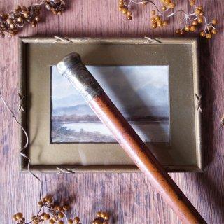 短めのマラッカ藤には訳がある / Antique Walking Stick with Malacca Cane