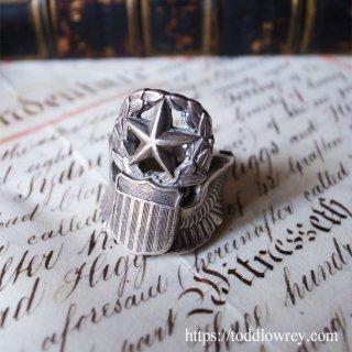 翼を授けるリング / Vintage Silver Ring
