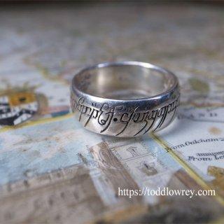 世界を支配する一つの指輪 / Vintage Silver Ring