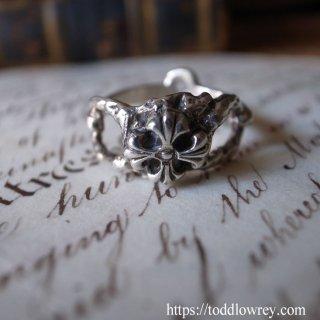 バーミンガムの銀のクロス / Vintage Silver Ring