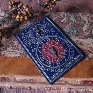 土曜の夜にホイストをしないなんて / Antique Whist Marker by CHAs.GOODALL & SON, LONDON