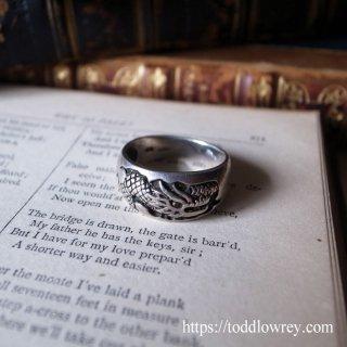 龍をその手に /Vintage Sterling Silver Dragon Ring