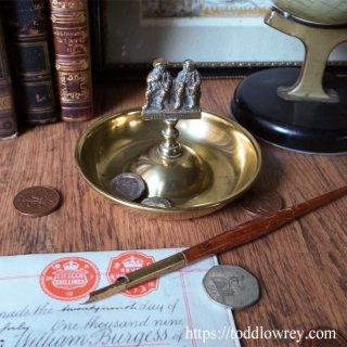 シャンター村のタムとジョニー / Antique  Brass Pin Dish