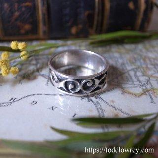 ケルトの力強さを感じる銀の指輪 /  Vintage Sterling Silver Celtic Ring