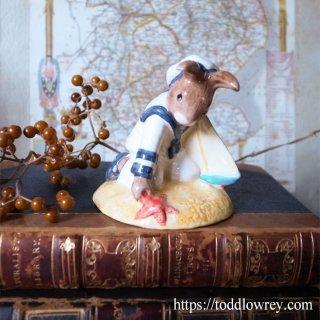 小さなウサギの水兵さん /Vintage Royal Doulton Sailor Bunnykins 1997