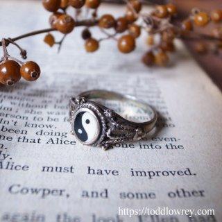 極まり転ずる陰と陽 / Vintage Sterling Silver Ring