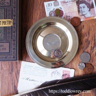 バトル・オブ・ブリテンを忘れない / Vintage Metal Coin Dish