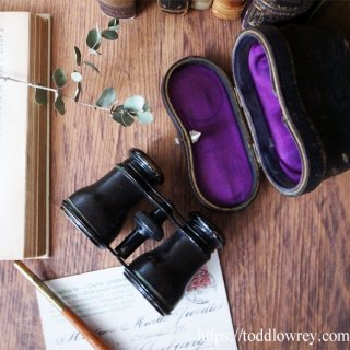 GALLOWAY氏の特別な一品 / Antique Opera Glasses with Case by J.H.GALLOWAY