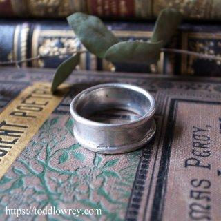 シンプルに潔く美しく / Vintage Sterling Silver Ring