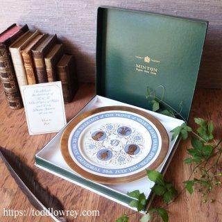 華麗な絵皿は今何を想う/ Vintage Limited Edition Plate Charles & Diana 1981 by Minton