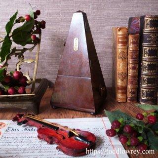 琴座の名を持つ拍節器 / Vintage Metronome