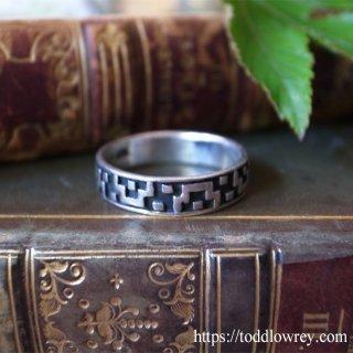 遊牧民が織り上げたキリムのように / Vintage Sterling Silver Ring