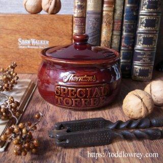 甘い記憶が詰まったトフィーポット / Vintage Toffee Pot Thorntons