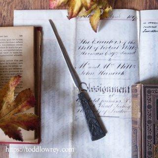 白鳥となったオェングスとカーのオープナー / Antique Letter Opener