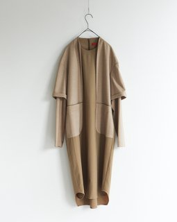 ohta beige stand neck