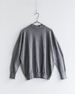 iliann loeb high neck pullover GRAY