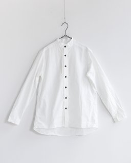 GARMENT REPRODUCTION OF WORKERS スタンドファーマーズシャツ WHITE