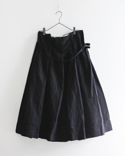 GARMENT REPRODUCTION OF WORKERS プリミティブファーマーズスカート BLACK