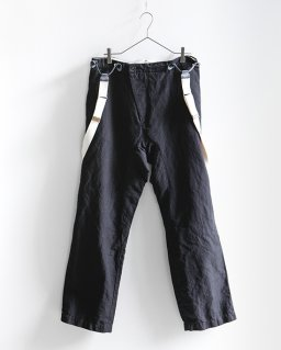 GARMENT REPRODUCTION OF WORKERS ニューグランパトラウザーズ BLACK