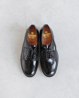 SANDERS FEMALE PLAIN TOE SHOE BLACK