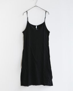 humoresque slip dress  BLACK