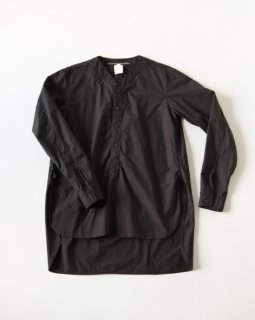 GARMENT REPRODUCTION OF WORKERS HENRY NECK SHIRTS LONG BLACK