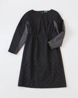 ohta black dolman dress BLACK