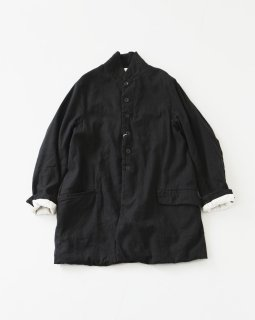 GARMENT REPRODUCTION OF WORKERS BUCOLIC COAT BLACK