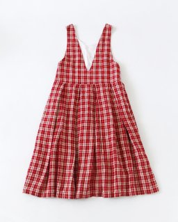 GARMENT REPRODUCTION OF WORKERS ZITTA RED CHECK