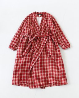 GARMENT REPRODUCTION OF WORKERS JULIE RED CHECK