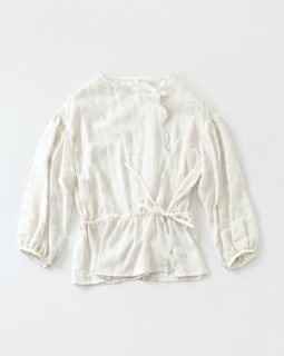 STASTNY SU chain lily ブラウス OFF WHITE