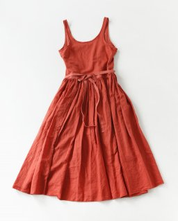 Nigel cabourn APRON DRESS ORENGE