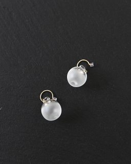 SIRI SIRI Earrings SPHERE SATIN (ピアス)