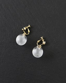 SIRI SIRI Earrings SPHERE SATIN (イヤリング)
