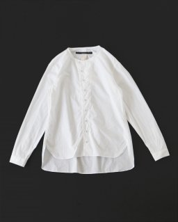 GARMENT REPRODUCTION OF WORKERS ニューヘンリーネックシャツ WHITE