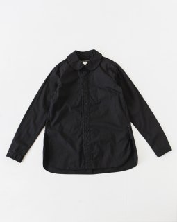 GARMENT REPRODUCTION OF WORKERS パンカラーシャツ BLACK