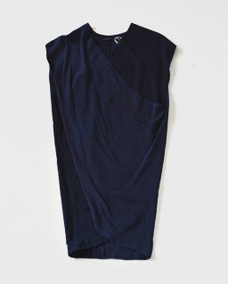 Eatable of many orders SPOOL DRESS INDIGO