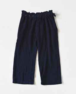 Eatable of many orders BOMBYX MORI PANTS INDIGO