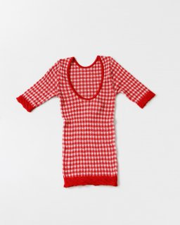 Babaco GINGHAM TOPS RED