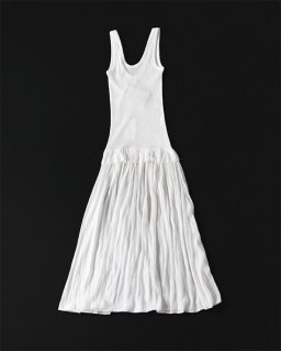 Babaco COTTON DRESS WHITE