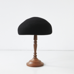 mature ha. japanese old wooden block beret BLACK 19AW<img class='new_mark_img2' src='//img.shop-pro.jp/img/new/icons5.gif' style='border:none;display:inline;margin:0px;padding:0px;width:auto;' />