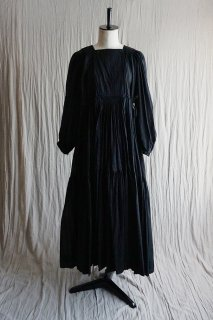 TOWAVASE  Artisan dress black (2020SS)