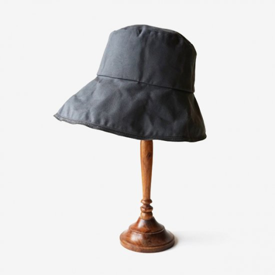 mature ha. paraffin hat wide random stitch (2020SS)