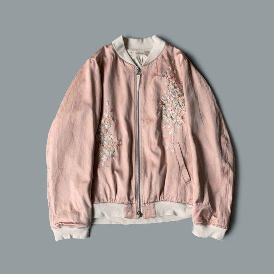 suzuki takayuki  embroidered blouson (2020SS)