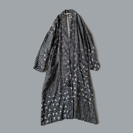 TOWAVASE Sarasa robe black(2020SS)