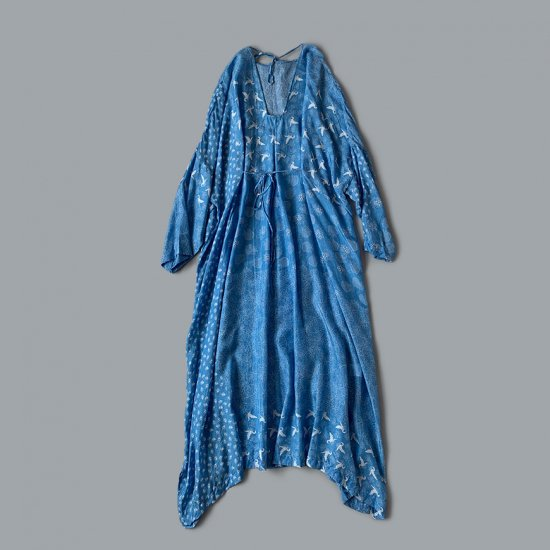 TOWAVASE  Sarasa dress blue(2020SS)