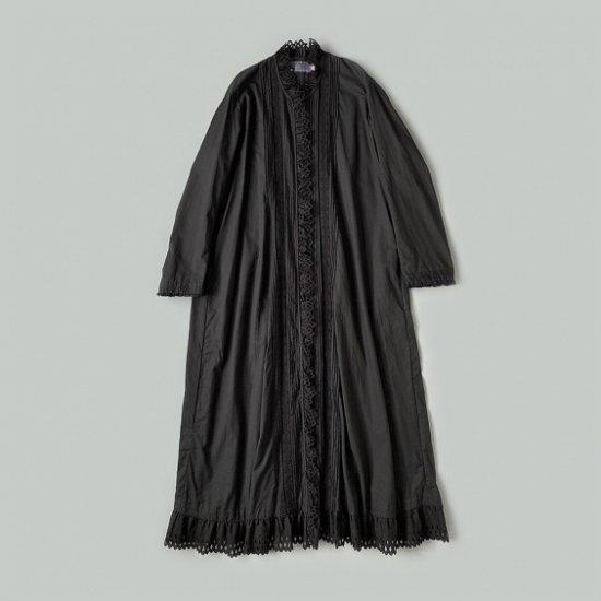 HALLELUJAH  ヴィクトリア時代ローブ Black (2020AW)
