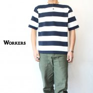 WORKERS/ワーカーズ  HenryNeck T White/Black