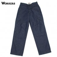 <img class='new_mark_img1' src='//img.shop-pro.jp/img/new/icons13.gif' style='border:none;display:inline;margin:0px;padding:0px;width:auto;' />WORKERS/ワーカーズ Officer Trousers Vintage Type2 10oz Denim