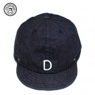 <img class='new_mark_img1' src='//img.shop-pro.jp/img/new/icons50.gif' style='border:none;display:inline;margin:0px;padding:0px;width:auto;' />DECHO/デコ BALL CAP DENIM INDIGO インディゴ